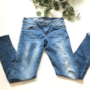 Kut from the Kloth Cameron straight leg 6 jeans